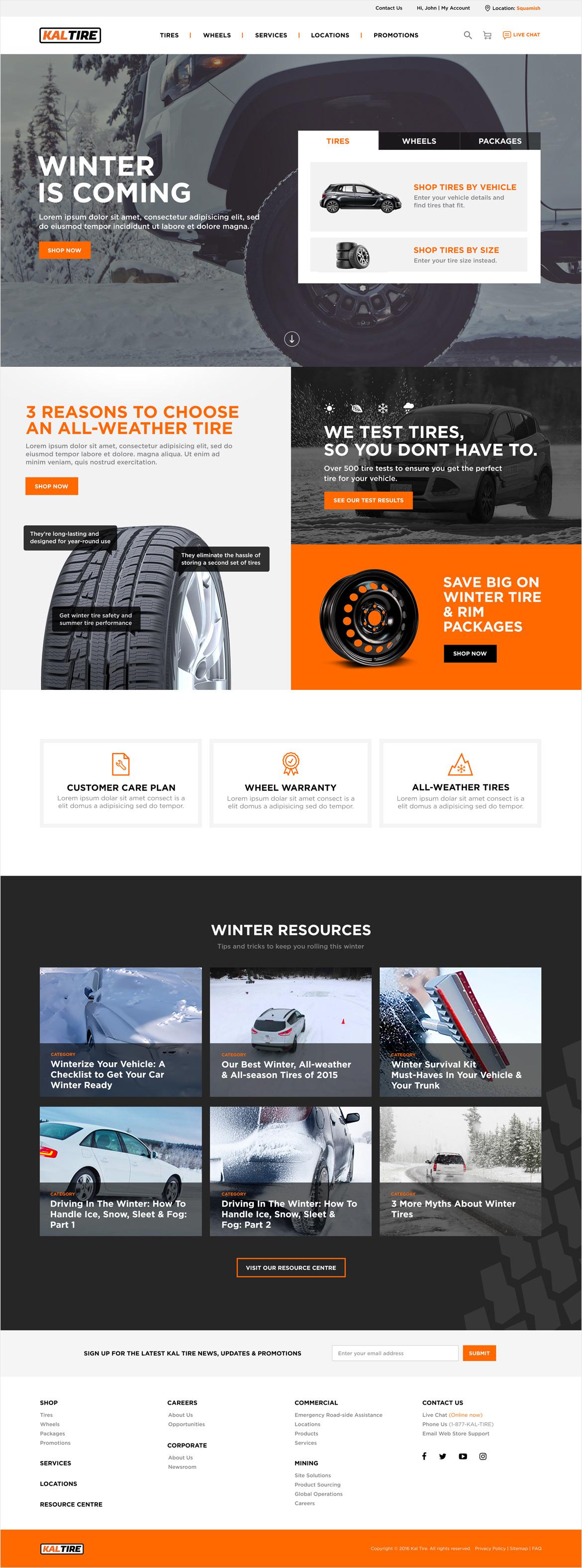 KalTire_homepage